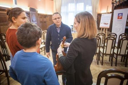 Edukacja z Mistrzem - w listopadzie skrzypce i wiolonczela