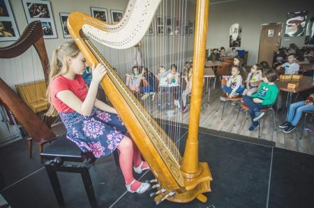 Warsztaty muzyczne, czyli… uczniowie uczą uczniów